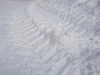ATV Snow Tracks