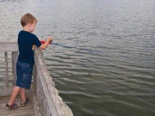 Young Angler