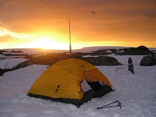 Winter on the Trail: Camping