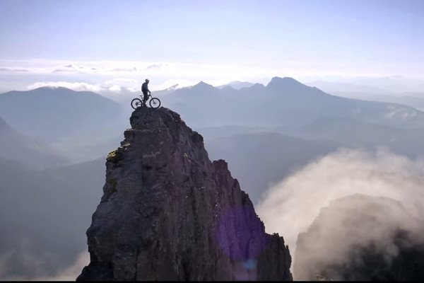 VIDEO: Danny MacAskill on Death Defying Ridge Descent