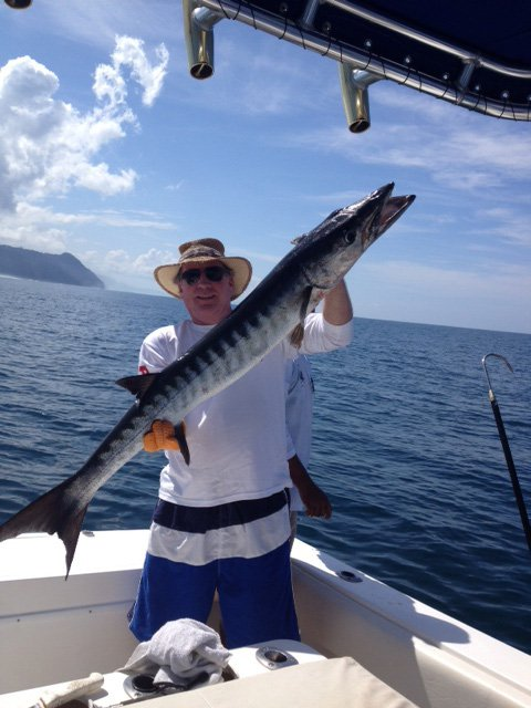 Angler Eats Record Breaking Barracuda
