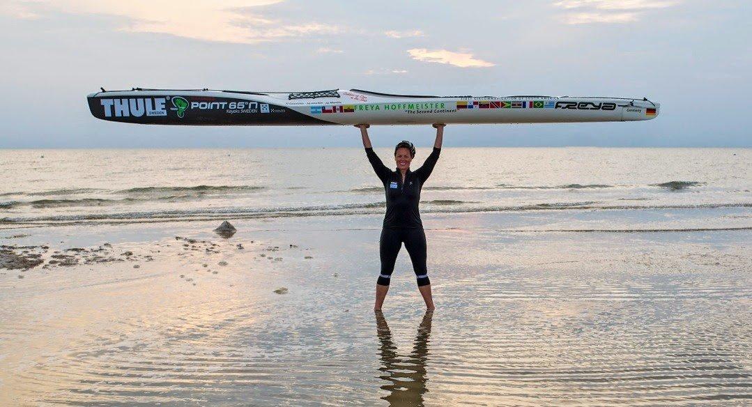German Kayaker Rounds South America