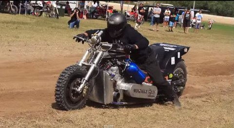 Nitro Powered Drag Bikes Are The Fastest Things On Dirt Liveoutdoors