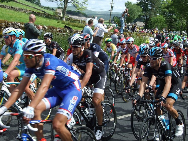 Giant Pile Up Mars Tour de France Stage 3