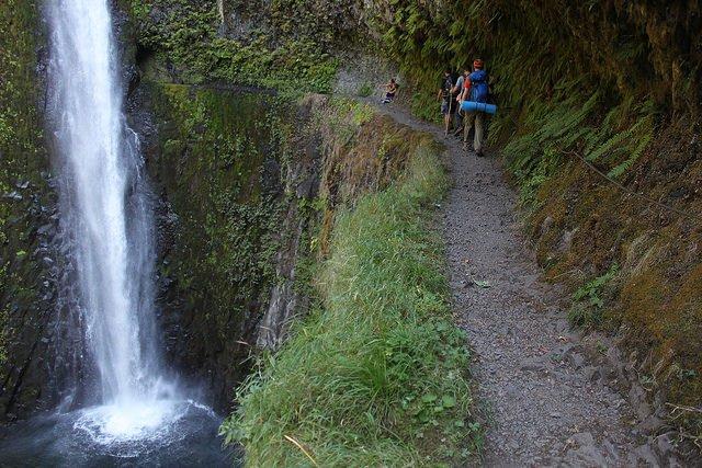 Portland Oregon's Eagle Creek: The original backpacking trail