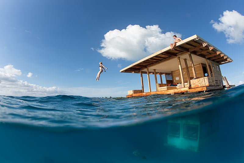 6 Places to Eat and Sleep Underwater