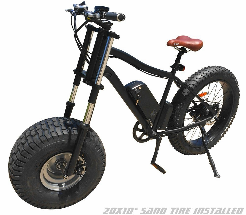 The Xterrain 500 Electric Bike Can Ride Over Anything