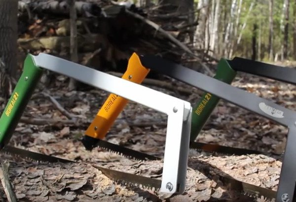 The Boreal 21 Folding Bow Saw Is Perfect For The