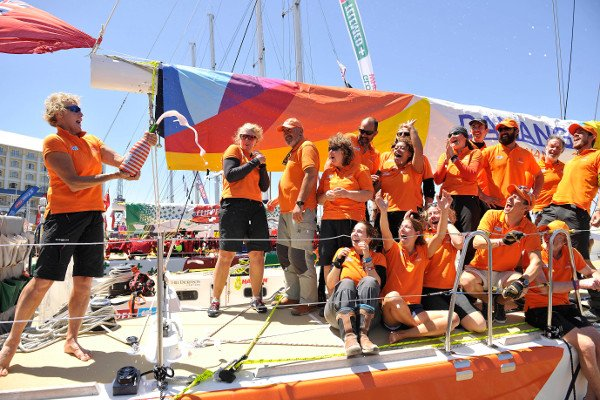 Clipper Round the World Teams Make Port at Cape Town