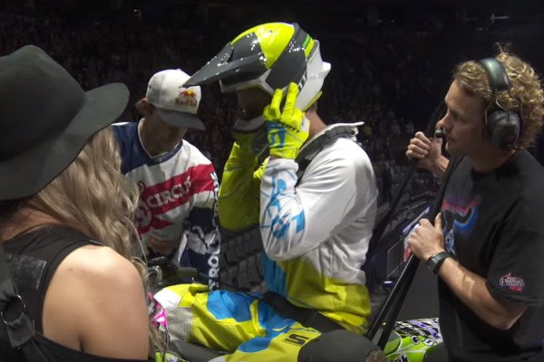 Paraplegic Athlete Performs Motorcycle Backflip at Nitro Circus