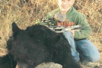 10-year-old Idaho Bowhunter Drops 400-Pound Black Bear