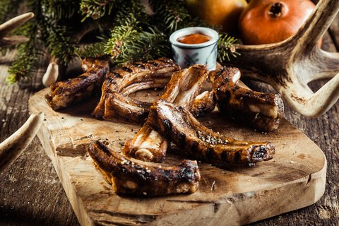 deer ribs
