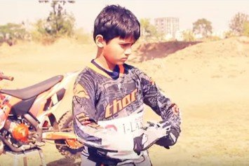 Meet A 10-Year-Old Motocross Prodigy From India