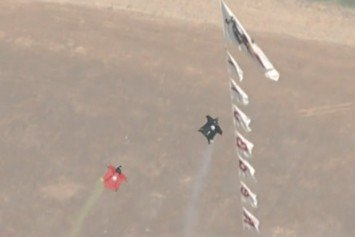 Wingsuit Slalom Competition Pushes Limit of Sport
