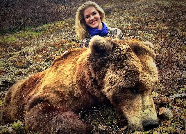 theresa vail with bear