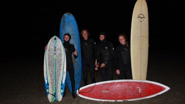 night surfing crew