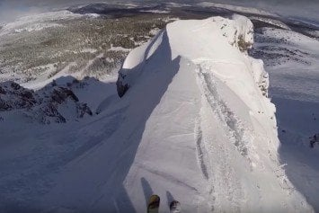 Avalanche Scare Caught on Video at Mammoth