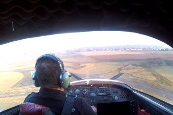 Watch This Amateur Pilot Perform a Textbook Crash Landing