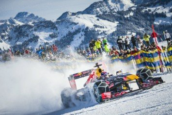 Red Bull Brings Formula 1 to Slopes of Europe