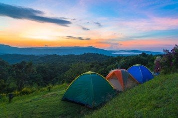 12 Great Camping Spots to Pitch Your Tent
