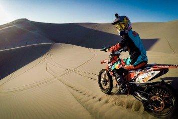 Watch Motocross Rider Shred Idaho Dunes
