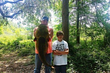Florida Teen Lands Record Flathead Catfish