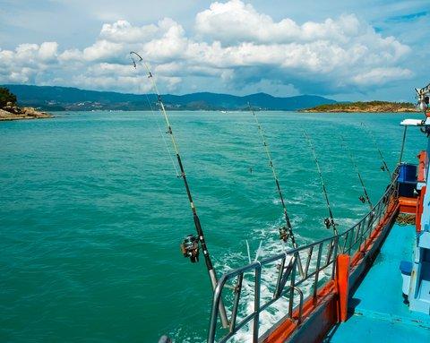 fishing boat sea