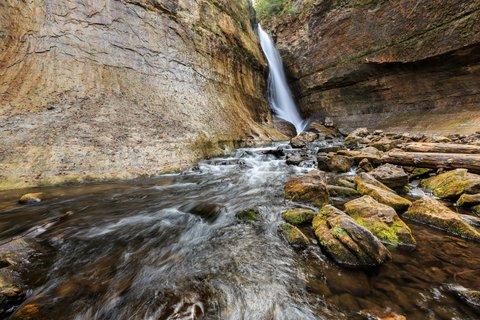 waterfall lake superior
