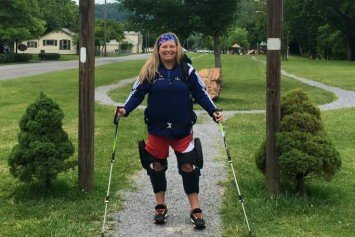 Paralyzed Hiker Determined to Conquer Appalachian Trail