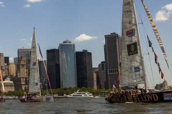 Clipper Round the World Crews Land in New York