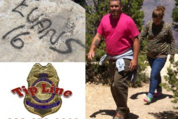 Park Service Looking for Grand Canyon Taggers