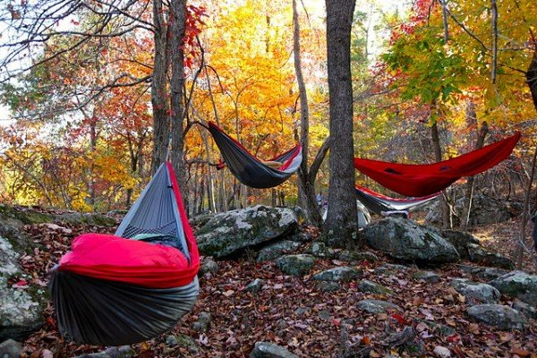 How To Set Up Your Camping Hammock Tent