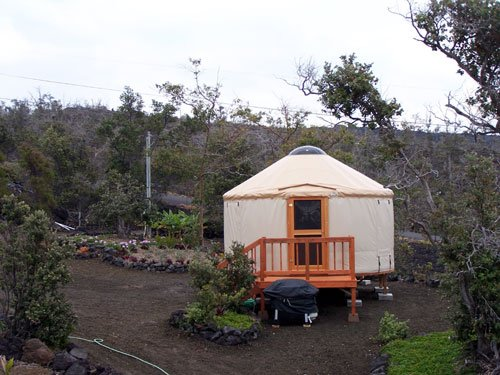 hawaiian yurt