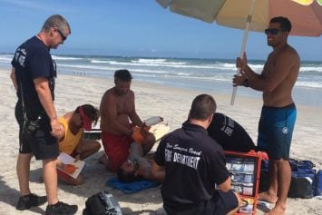 Trio of Shark Attacks at Same Florida Beach Within Hours