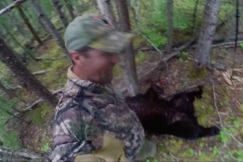 Another Hunter Spears Black Bear on Camera