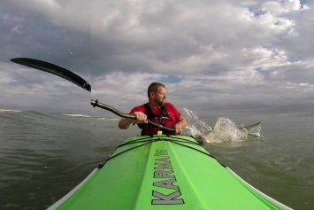 Kayaker Evades Shark Attack in Florida Surf