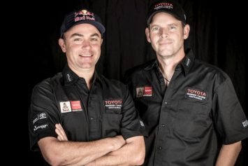 Champions Team Up For Dakar Rally