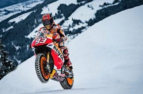 motorbike slope