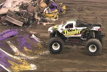 Yeeeee Haw! It's Monster Truck Thunder!