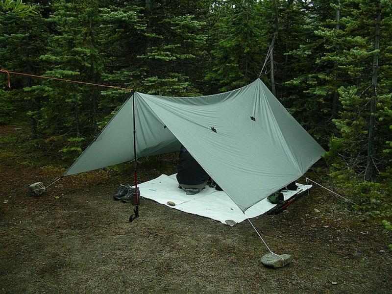 Use a tarp