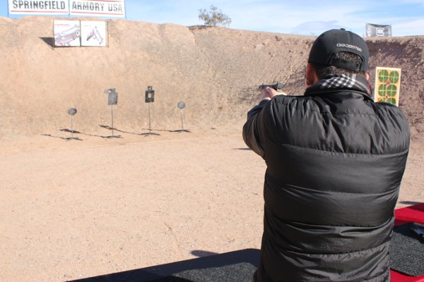 Day at the Range SHOT Show 2016